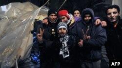 Еуропаға келген мұсылман мигранттар. Греция, 9 наурыз 2011 жыл.