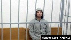 Мікіта Емяльянаў у судзе, 11 лютага