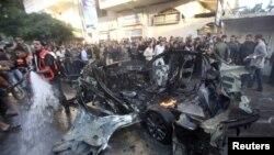 Gaza nakon zračnih napada Izraela, novembar 2012.