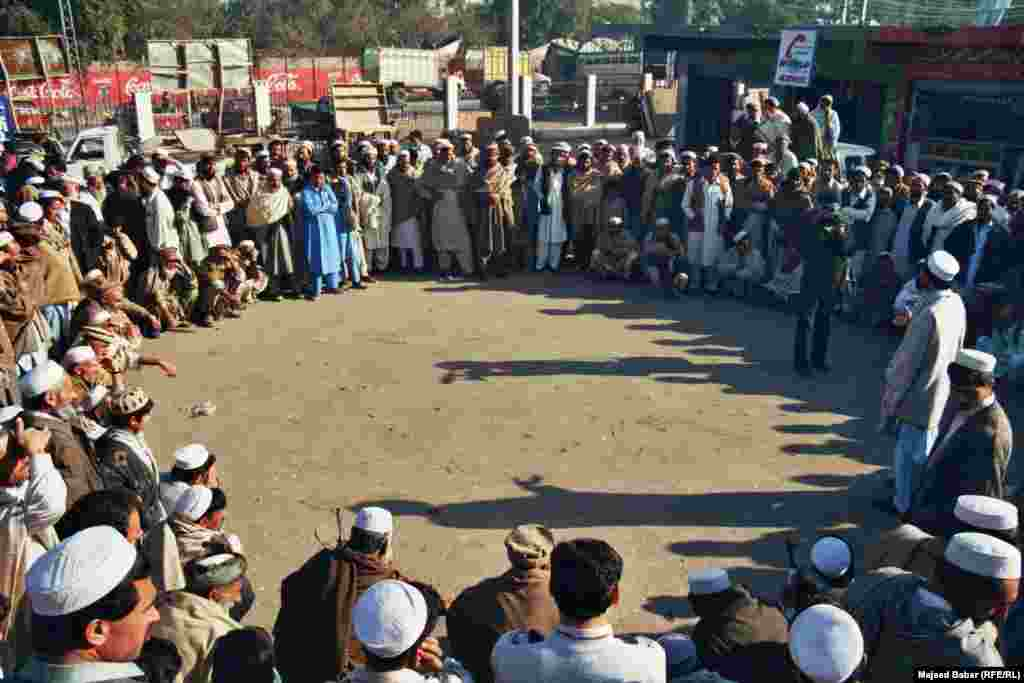 Jirga participants typically sit in circles to denote equality among the participants. Tribal assemblies guard egalitarianism among tribes where members, all of whom are male, are considered equal.