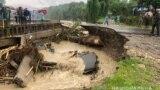Поблизу Івано-Франківська затопило сонячну електростанцію, 24 травня