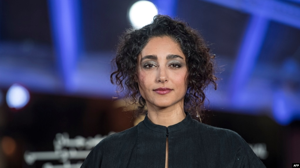 Iranian actress and singer Golshifteh Farahani attends the 18th edition of the Marrakech International Film Festival on December 2, 2019 in Marrakech.