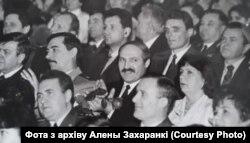 Міністар Юры Захаранка разам з Аляксандрам Лукашэнкам. Архіўнае фота.