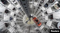 Fabrika automobila Folksvagena u Volfsburgu