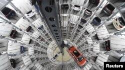 Un turn de livrare la fabirca de la Wolfsburg