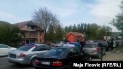 Sa okupljanja na severu Kosova