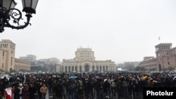 Respublika meydanı, 23 dekabr, 2020-ci il