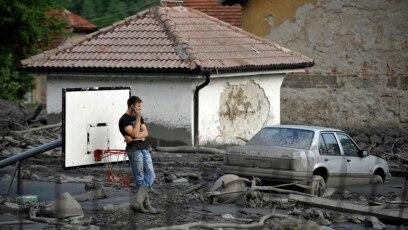 Topčić Polje, nakon poplava u maju 2014.