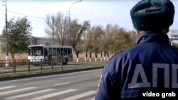 The reported discovery of a suicide belt in Stavropol came a week after six people were killed in a suspected suicide attack on a bus in the city of Volgograd.