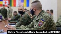 Учасники – військовослужбовці, які входять до литовсько-польсько-української бригади імені Великого гетьмана Костянтина Острозького, а також військові США