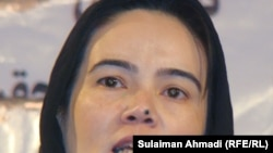 جمیله عمر رییس گروه تحقیق و دفاع از حقوق بشر
