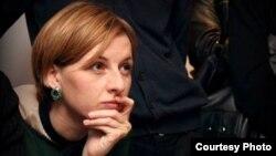 Журналист украинского интернет-канала «Громадське ТВ» Анастасия Станко.
