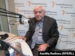 Aqil Abbas Azadlıq Radiosunun Bakı bürosunda