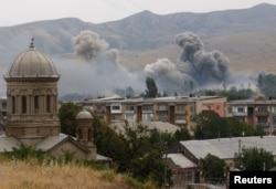 Обстріл території Грузії російськими військами під час серпневої війни 2008 року