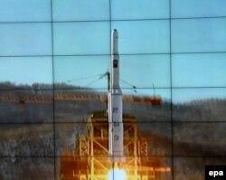 Очередное испытание баллистической ракеты КНДР