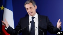 Николя Саркози, Францияның экс-президенті.