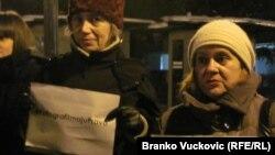 Protest u Kragujevcu, foto: Branko Vučković