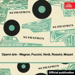 Coperta LP-ului Supraphon cu laureații români ai Concursului de canto al Festivalului Primăverii Pragheze din 1954