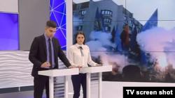 Эфир программы на сепаратистском канале