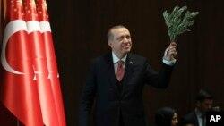 Режеп Тайып Эрдоган. Анкара, 2-февраль, 2017-жыл