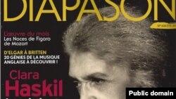 "Coperta revistei ""Diapason"""