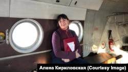 """""""Oni misle da sam anđeo, ali, naravno, nisam"""", kaže bolničarka Aljona Kirilovskaja."""