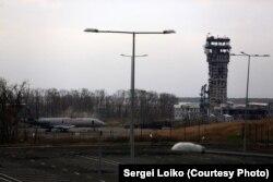 Робота Сергія Лойка, зроблена під час оборони Донецького аеропорту