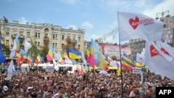 Митинг сторонников Тимошенко у здания суда