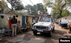 Трущобный квартал Дели, где жили четверо из шести обвиняемых по делу