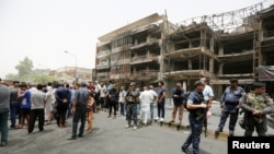 Iraqis mourned as the death toll from a bombing at Baghdad's Karrada shopping mall claimed by the Islamic State rose to at least 213.
