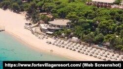 Курорт Forte Village Resort, фрагмент иллюстрации с официального сайта