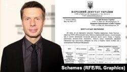 17 лютого 2020 року народний депутат від фракції «Європейська солідарність» Олексій Гончаренко написав депутатське звернення до СБУ та ДПС