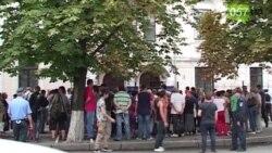 Сутички у Харкові між місцевими активістами «Євромайдану» та прихильниками «Опозиційного блоку»