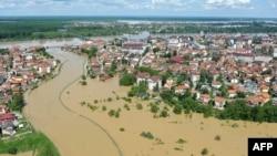 Përmbytjet në Ballkan