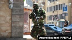 Ukraine -- Donetsk shooting, July 1, 2014.