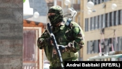 Перестрелка в Донецке. 1 июля 2014 года