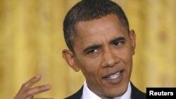 """""""Мы одна нация. Все живем под Богом"""", - заявил президент США Барак Обама (на фото), Вашингтон, 10 сентября 2010"""