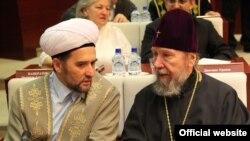 Татарстан мөфтие Илдус Фәиз һәм Казан һәм Татарстан митрополиты Анастасий