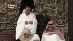 Президент Имомали Раҳмон Умра ибодатини адо этди