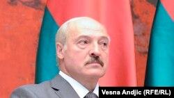 Александр Лукашенко, июнь 2014 года