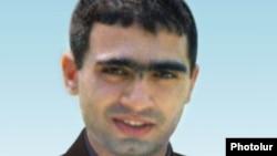 Բանակում մահացած սպա Արտակ Նազարյան, արխիվային լուսանկար