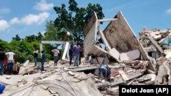 Հայիթի - Երկրաշարժի պատճառած ավերածությունները, Լե-Կե, 14-ը օգոստոսի, 2021թ․