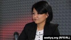 Политолог Толганай Умбеталиева.