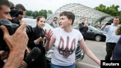 Oslobođena Nađa Savčenko