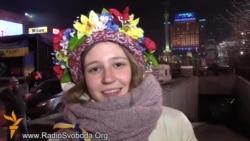 Студентка София – волонтер на Майдане