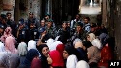 نیروهای امنیتی اسرائیل و ساکنان فلسطینی بیتالمقدس