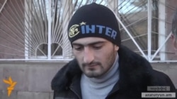 Գյումրիի ցույցերին մասնակցած երիտասարդին մեղադրանք է առաջադրվել