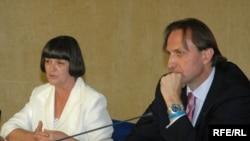 Ranka Čarapić i Ranko Krivokapić Fotografije: Savo Prelević