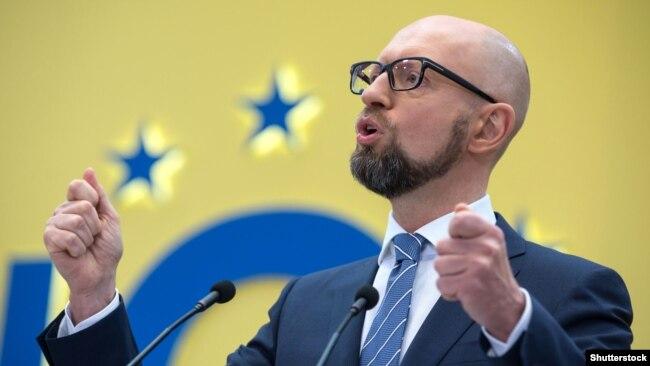 Арсеній Яценюк, прем'єр-міністр України (2014–2016 рр.)