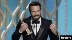 """Argo"" director Ben Affleck has already won Golden Globe awards fro best drama and best director. (file photo)"